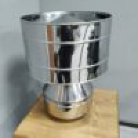 Конус-дефлектор 150/210 мм 321 нерж 0.8 мм