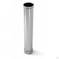 Труба одноконтурная 150 мм 321 нерж 0.8 мм L-500