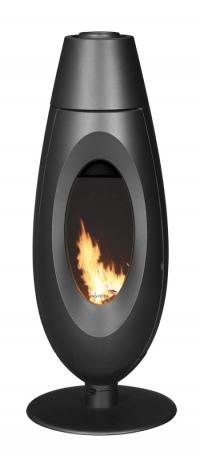 Чугунная печь-камин Ovatio