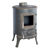 Чугунная печь-камин Palestro patina