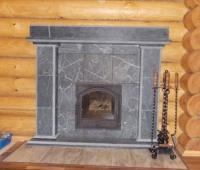 Каминный портал Сварожич в талькомагнезите