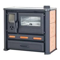 Варочная печь Alma Mons (R) оранжевая