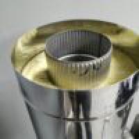 Сендвич-труба 150/250 мм 321 нерж 0.8 мм L-1000